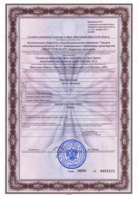 licenziya priloghenie